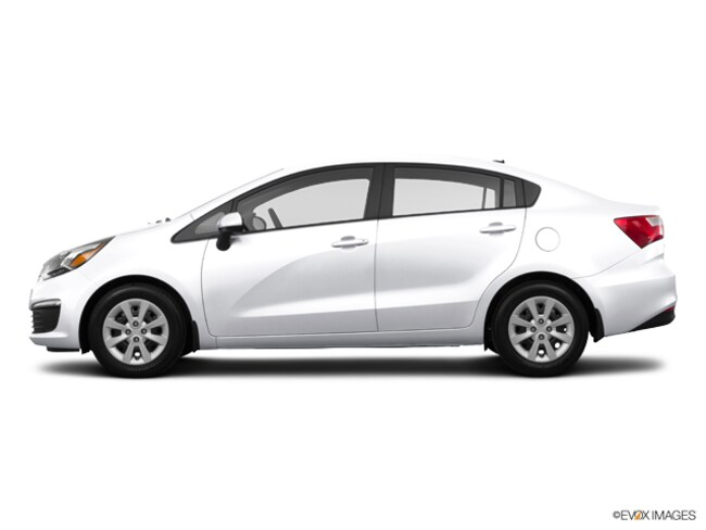 Used 2016 Kia Rio Sedan Clear White For Sale In Anchorage Ak Stock