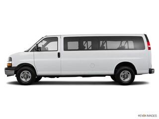 Used 2016 Chevrolet Express 3500 LT w/1LT Van Extended Passenger Van Houston