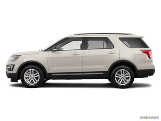 New 2017 Ford Explorer XLT FWD Sport Utility T730047 for sale in Smithfield, NC