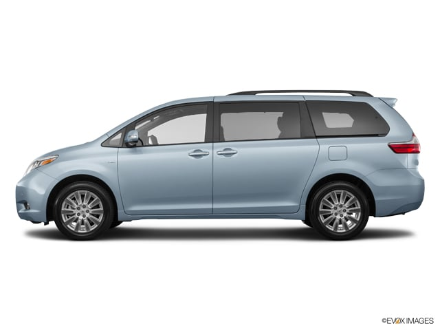 2015 Toyota Sienna Exterior Colors