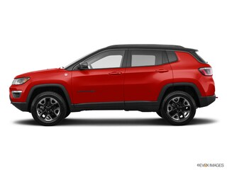 Pre-Owned 2018 Jeep Compass Trailhawk SUV 3C4NJDDBXJT457831 for Sale in Lancaster, OH