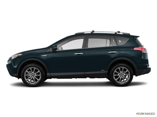 2018 Toyota RAV4 Hybrid Limited Hybrid Limited AWD