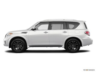 New 2018 Nissan Armada Platinum SUV JN8AY2NC9J9555350 for sale in Saint James, NY at Smithtown Nissan