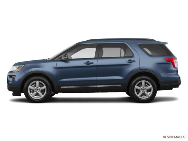 New 2018 Ford Explorer XLT SUV near Detroit