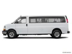 New 2018 Chevrolet Express 3500 LT Van Extended Passenger Van J1339215 in Houston