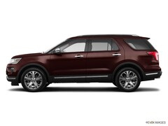New 2018 Ford Explorer Platinum Sport Utility in Broomfield