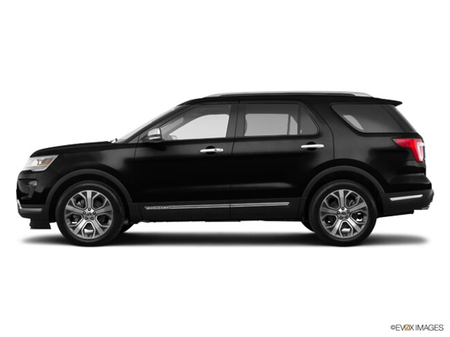 New 2018 Ford Explorer Platinum 4WD Near Springfield OH