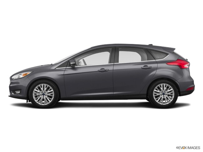 2018 Ford Focus Titanium Hatchback for sale in Jacksonville at Duval Ford