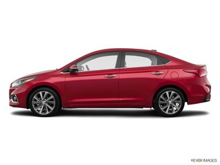 2018 Hyundai Accent Limited Sedan Pomegranate Red