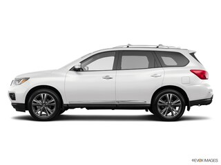 New 2019 Nissan Pathfinder Platinum SUV Ames, IA
