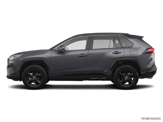 New 2019 Toyota RAV4 Hybrid XSE SUV for sale in Frederick, CO | Serving Boulder & Denver