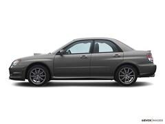 2007 Subaru Impreza WRX Limited w/Black Interior Sedan