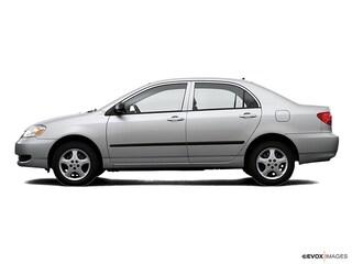 2007 Toyota Corolla CE Sedan
