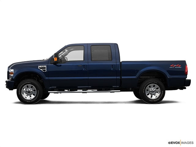 2008 Ford F-250 Super Duty Short Bed Crew Cab Truck