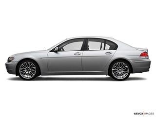 2007 BMW 750Li Sedan