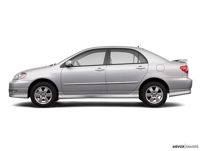2008 Toyota Corolla S Sedan