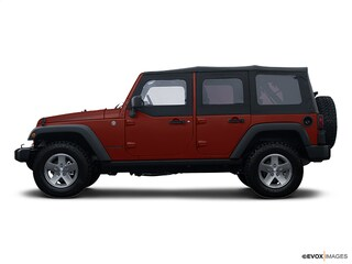 Used 2008 Jeep Wrangler Unlimited Sahara SUV in Manchester, NH