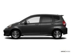 2008 Honda Fit Sport (M5) Front-wheel Drive Hatchback