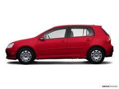Bargain Used 2009 Volkswagen Rabbit S Hatchback under $10,000 for Sale in Santa Fe