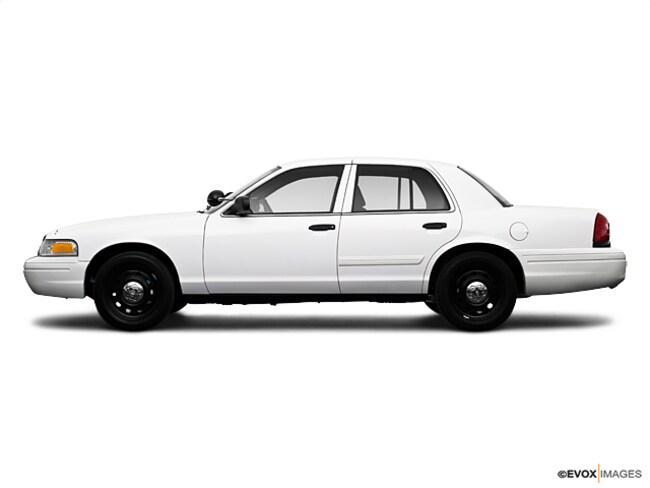 2009 Ford Crown Victoria Police Interceptor Sedan