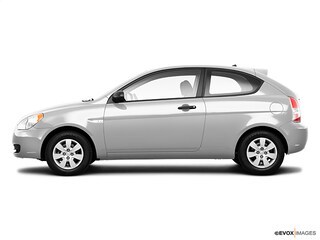 2010 Hyundai Accent Blue Blue  Hatchback 5M