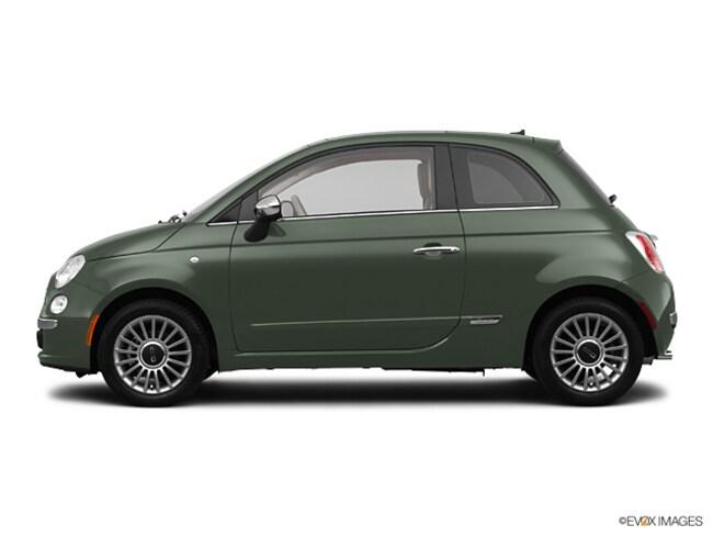 2012 FIAT 500 Lounge Hatchback