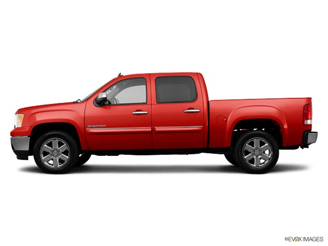 Used 2013 GMC Sierra 1500 Truck Crew Cab Fire Red For Sale in