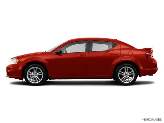 2013 Dodge Avenger SXT Front-wheel Drive Sedan