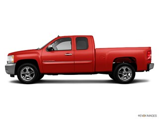 Used 2013 Chevrolet Silverado 1500 LT Long Box Truck Extended Cab B15654B for Sale in Levittown, PA, at Burns Auto Group