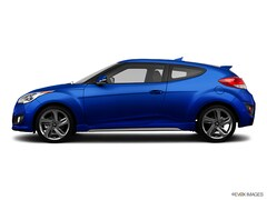 Used 2013 Hyundai Veloster Turbo w/Black Hatchback KMHTC6AE9DU150474 for sale in Albuquerque, NM
