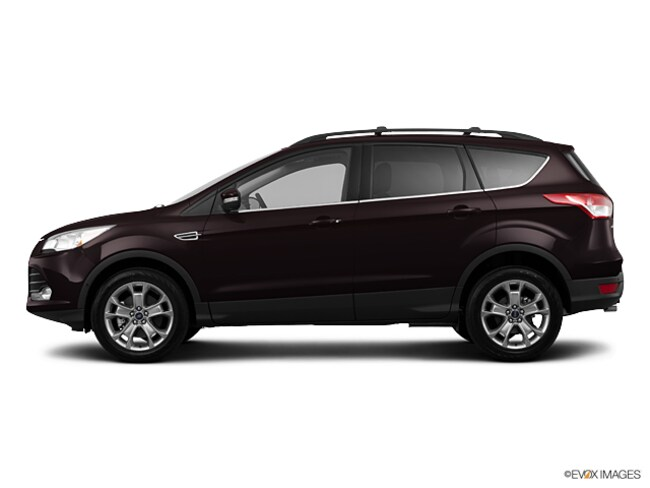 2013 Ford Escape SEL Four-Wheel Drive with Locking and Limited-Slip Dif