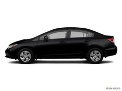 Used 2013 Honda Civic LX Sedan 19XFB2F59DE295082 For Sale in San Leandro