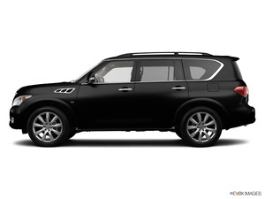 2014 INFINITI QX80 with Theater Package