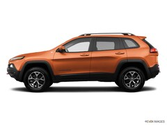 2014 Jeep Cherokee Trailhawk 4x4 SUV Certified Pre-Owned For Sale in Danbury, CT
