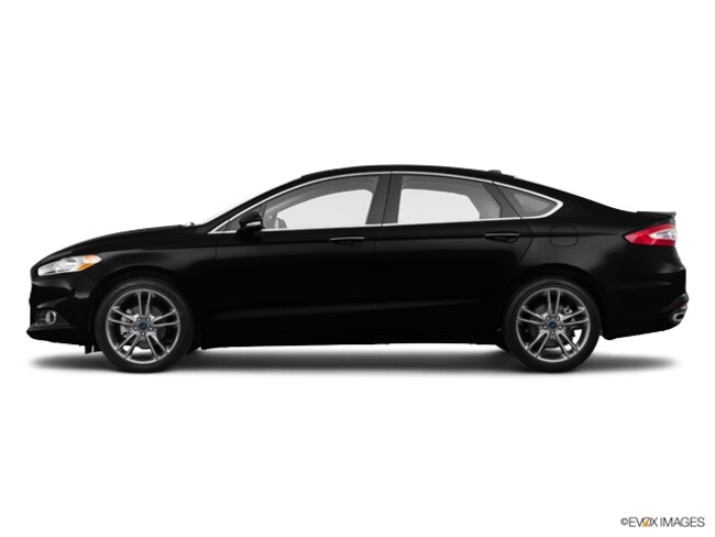 New 2015 Ford Fusion Titanium Sedan For Sale/Lease Cadillac, MI