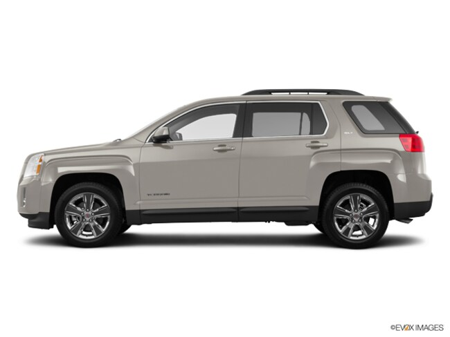 Pre-Owned 2015 GMC Terrain SLT-1, NAV, Sunroof SUV for sale in Lima, OH