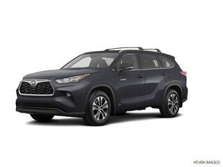 New 2020 Toyota Highlander Hybrid XLE SUV 5TDGBRCHXLS504250 22144 serving Baltimore