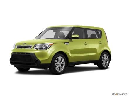 2015 Kia Soul + FWD Hatchback