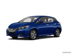 New 2020 Nissan LEAF S PLUS Hatchback 1N4BZ1BP5LC310894 For Sale in South Burlington