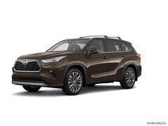 New 2021 Toyota Highlander Platinum SUV in Oxford, MS