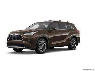 New 2021 Toyota Highlander Platinum SUV in Nederland