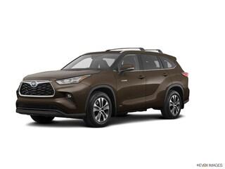 New 2021 Toyota Highlander Hybrid XLE SUV in Charlotte