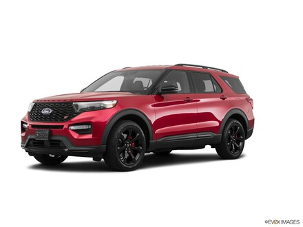 Featured New 2021 Ford Explorer ST Demo  SUV 1FM5K8GC9MGA13384 for Sale in Heidelberg, PA