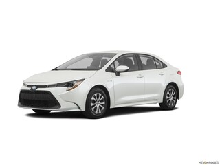 New 2020 Toyota Corolla Hybrid LE Sedan JTDEBRBE5LJ001964 21154 serving Baltimore
