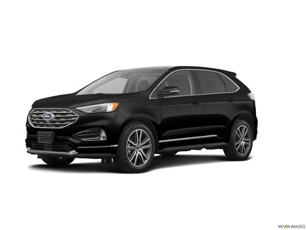Featured used 2019 Ford Edge Titanium Titanium AWD for sale in Dover, DE