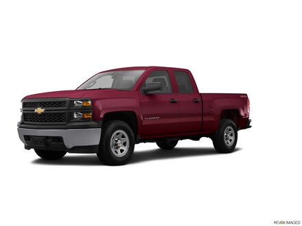 2015 Chevrolet Silverado 1500 WT Extended Cab Long Bed Truck