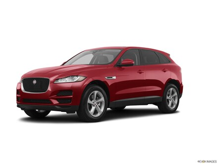 Pre-Owned Featured 2017 Jaguar F-PACE 35t Premium SUV for sale in Macomb MI