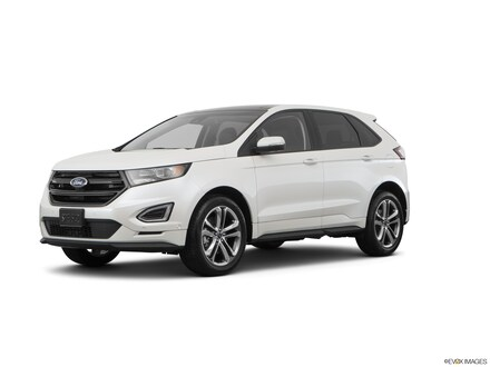 2017 Ford Edge Sport All-Wheel Drive with Locking and Limited-Slip Diff