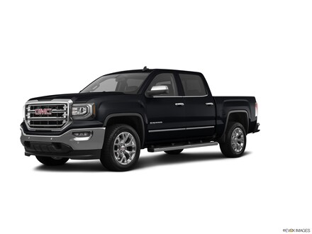 Featured used  2018 GMC Sierra 1500 2WD Crew Cab 143.5 SLT Truck for sale in Conroe TX near Houston