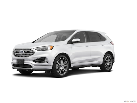 Featured New 2019 Ford Edge Titanium Crossover for Sale in Hamburg, NY